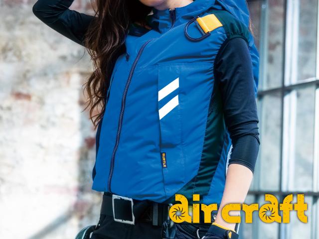 バートル(BURTLE)エアークラフトAC1064空調服。画像2