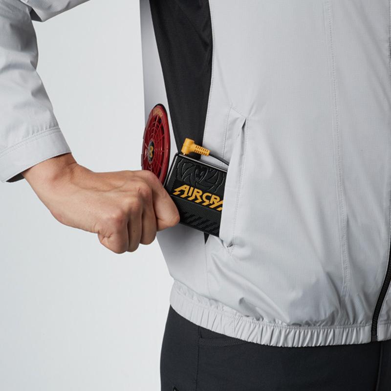バッテリー収納ポケット(右:逆玉仕様) ※特許取得済