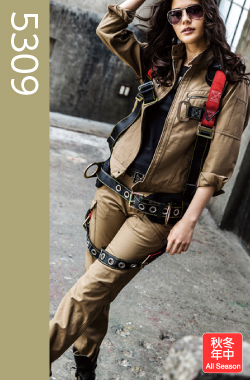 【BURTLE(バートル)】【秋・冬作業服】 レディースカーゴパンツ 5309